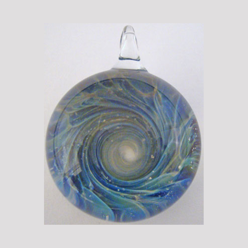 Blown Glass Cremation Art by Tiffany Koehn