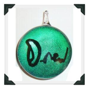 Drew's Signature on Emerald Dichro